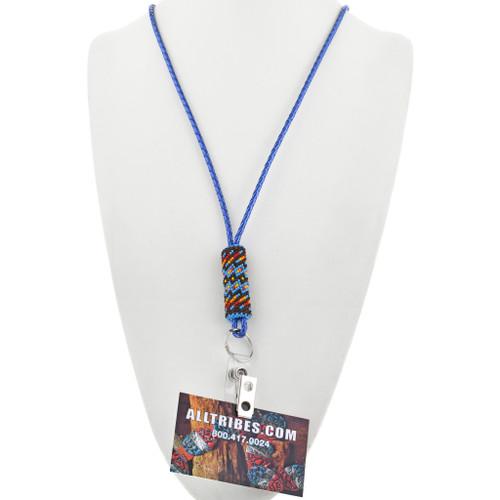 Native American ID Badge Lanyard 33854