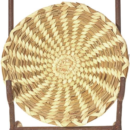 Vintage Papago Indian Basket Tray 33868