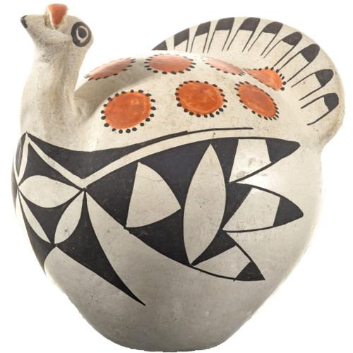 Vintage Acoma Turkey Pottery 33874