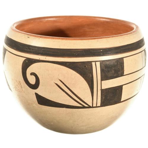 Hopi Tewa Pottery Bowl 33894