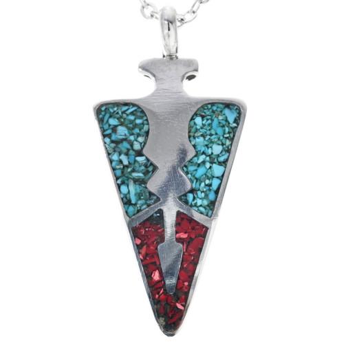 Turquoise Arrowhead Pendant 33905