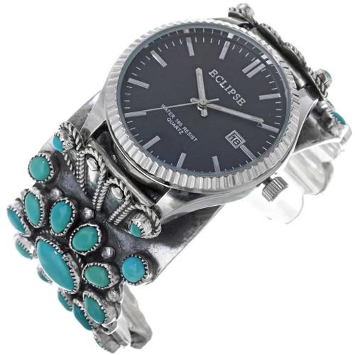 Sleeping Beauty Turquoise Watch Cuff 33964
