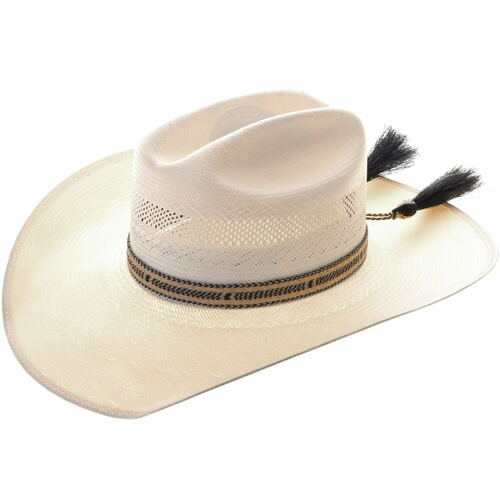 Vintage Hitched Horsehair Hatband 33971