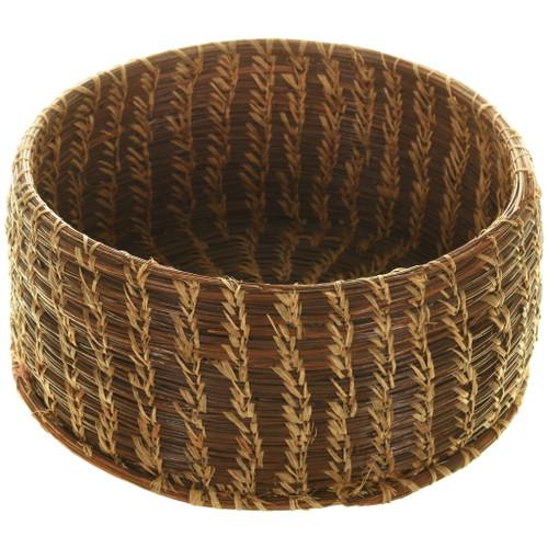 Vintage Native American Pine Needle Basket 33978
