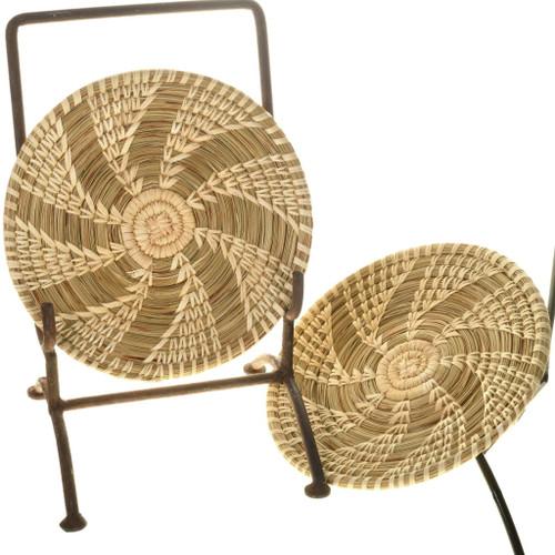 Vintage Tohono O'Odham Indian Basket 34023