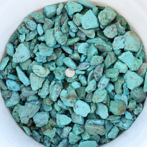 Turquoise Rough Sonora Nuggets One Pound 33441
