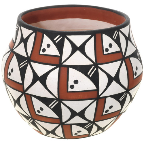 Acoma Polychrome Pottery Jar 34042