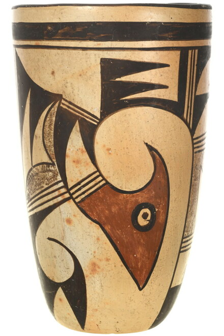 Vintage Hopi Pottery Vase 34048