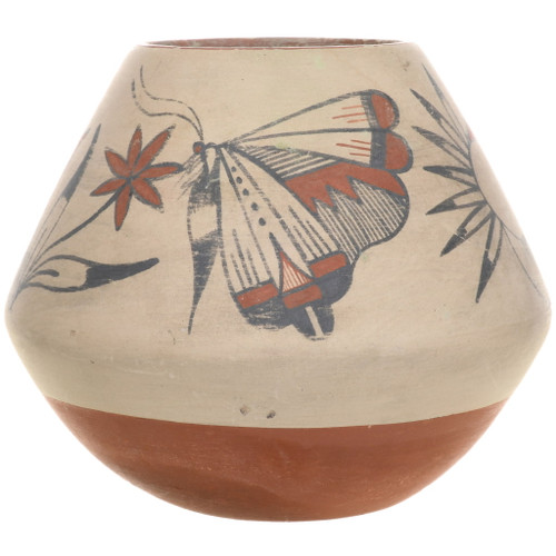 Vintage Jemez Butterfly Pottery 34049
