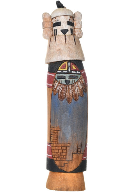 Vintage Hopi Snow Maiden Kachina Doll 34051