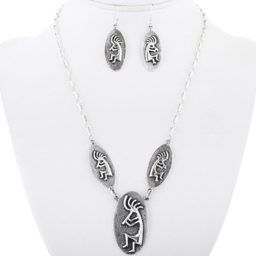 Native American Silver Necklace 34053