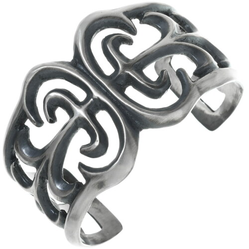 Old Pawn Style Sterling Cuff Bracelet 34083