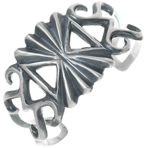 Southwestern Native American Silver Bracelet 34085