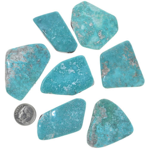 Natural Sonoran Turquoise Cabochons 33456