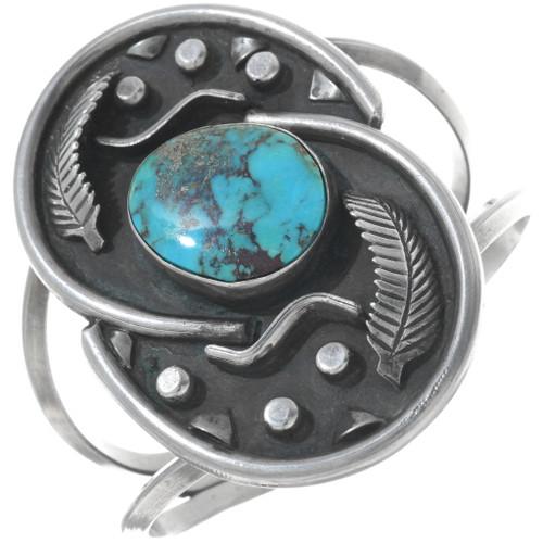 Old Pawn Bisbee Turquoise Bracelet 34145