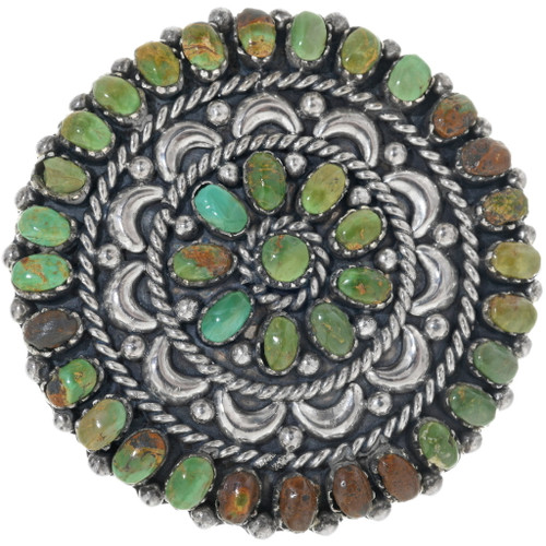 Green Turquoise Belt Buckle 34184