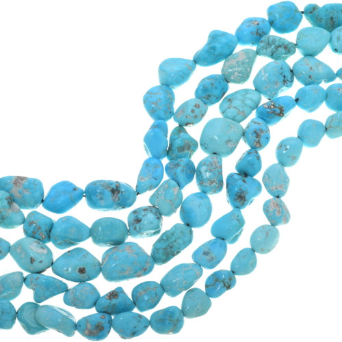 Natural Turquoise Nugget Beads 33460
