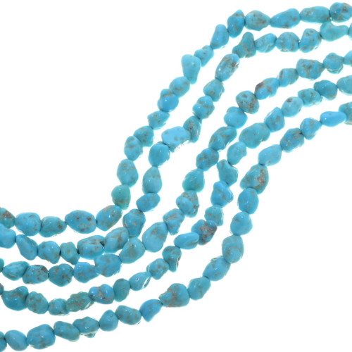 Turquoise Nugget Beads 33464