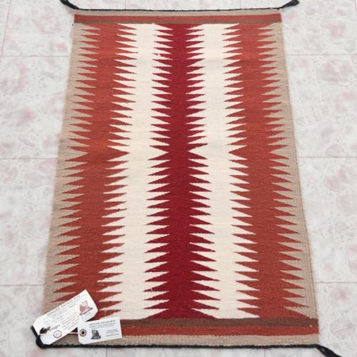 Vintage Navajo Wool Rug 34218