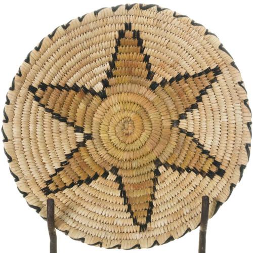 Vintage Papago Star Flower Basket 34235