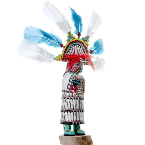 Vintage Hopi Salako Kachina Doll 34279