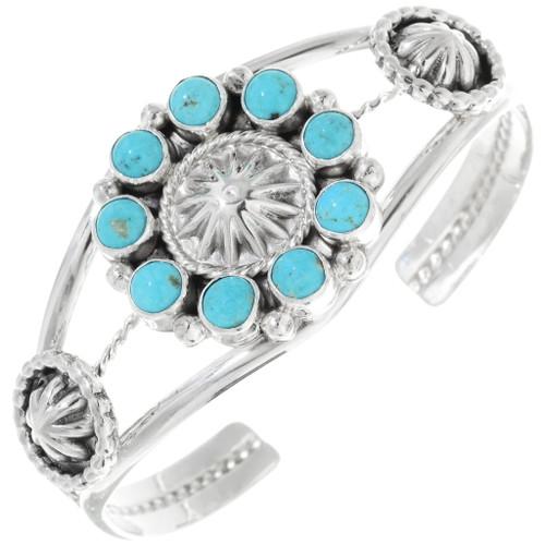 Native American Turquoise Ladies Bracelet 34362