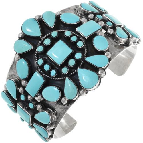 Old Pawn Navajo Turquoise Bracelet 34390