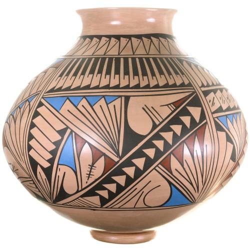 Large Mata Ortiz Olla Pottery 34308