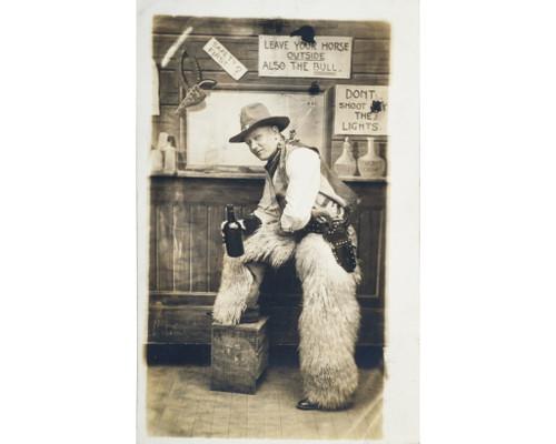 Antique Wild West Cowboy Portrait Photography 34435