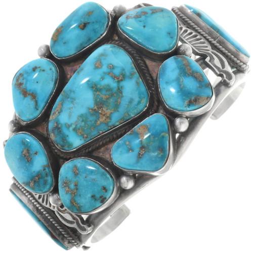 Vintage Morenci Turquoise Bracelet 34544