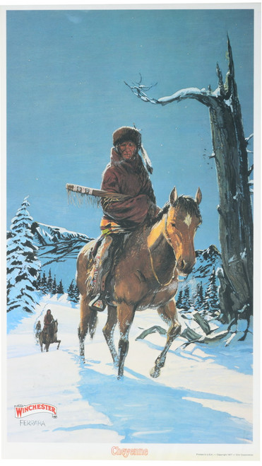 Cheyenne Indian Winchester Poster 34568