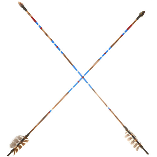 Indian Hand Painted Arrow 25083