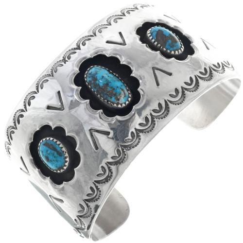 Old Pawn Bisbee Turquoise Bracelet 34582