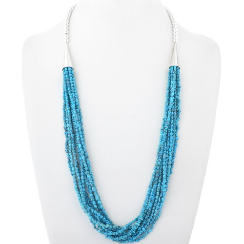Natural Sleeping Beauty Turquoise Necklace 34584