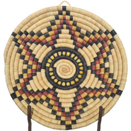 Vintage Hopi Star Tray Basket 34834