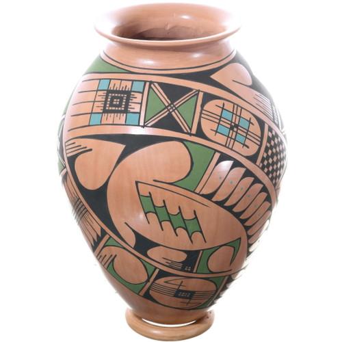 Mata Ortiz Polychrome Pottery Olla 34847