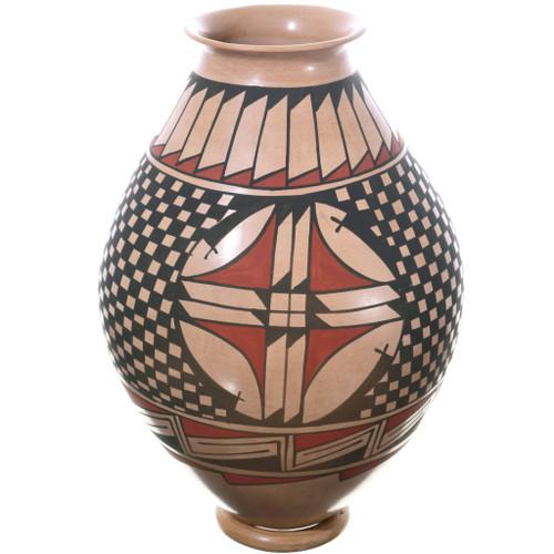 Mata Ortiz Polychrome Pottery Olla 34848