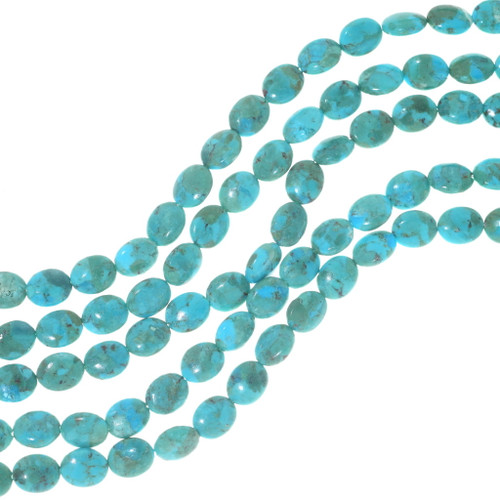 Oval Turquoise Beads 34747