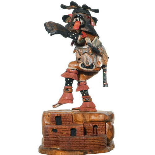 Hopi Black Bear Kachina Doll 35051
