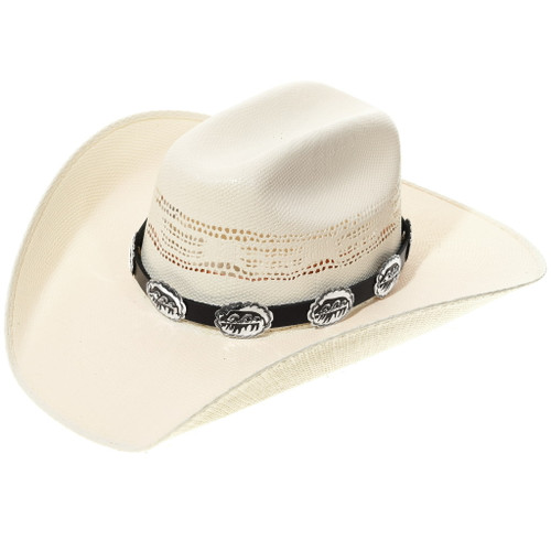 Silver Buffalo Concho Hatband 35120