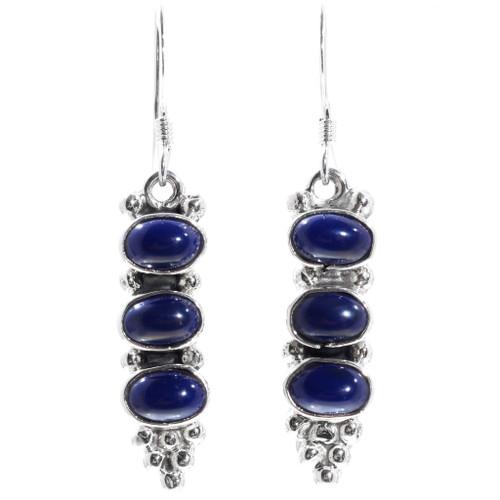 Lapis Lazuli Earrings 35303