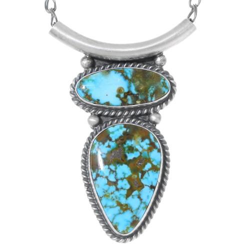 Royston Turquoise Pendant Necklace 35350