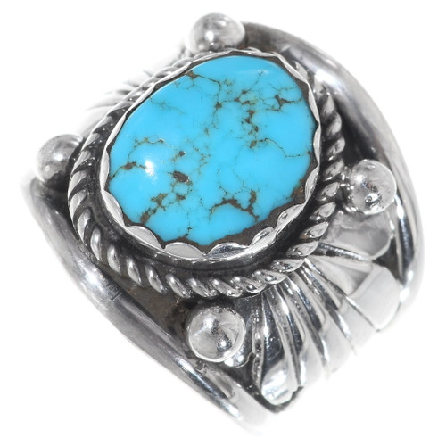 Native American Turquoise Ring 35765