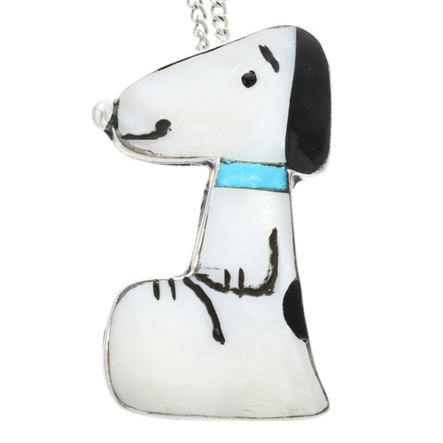 Zuni Snoopy Pendant 32108