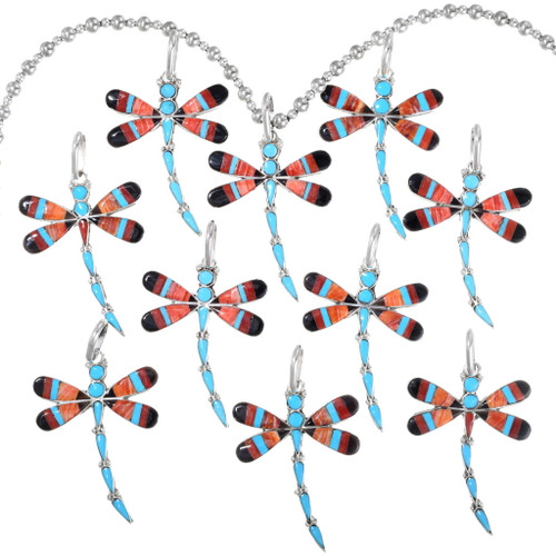 Faux Pearl Bead Strand Flying Dragonfly Dangle Pods Rhines Collier Pendentif Ali