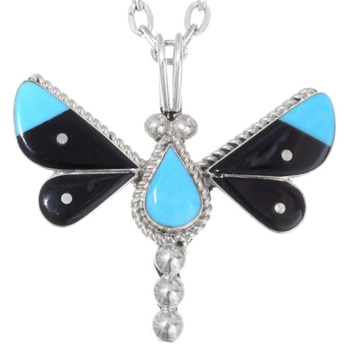 Turquoise Butterfly Pendant 35854
