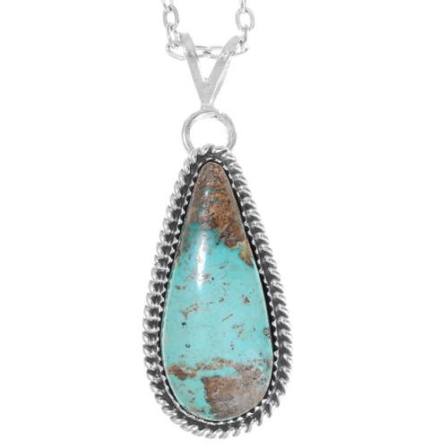 Native American Turquoise Pendant 35860