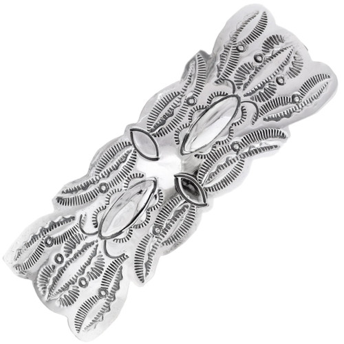 Native American Sterling Silver Hair Barrette 35868