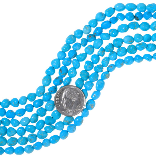 High Grade Natural Kingman Turquoise 35549