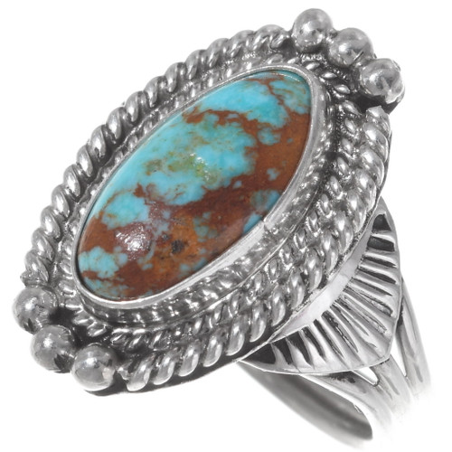 Native American Turquoise Ring 35933